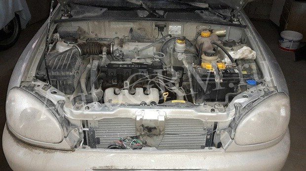 Какой двигатель стоит на шевроле ланос