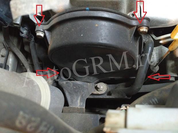Верхняя крышка ремня ГРМ