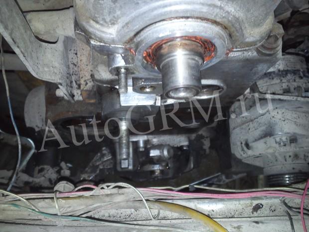 Двигатель без шкивов и помпы