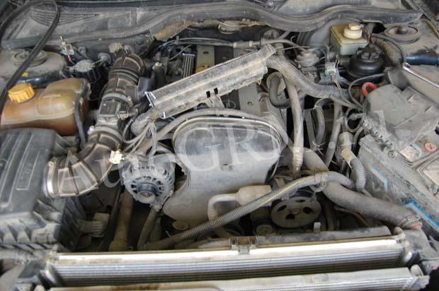 Двигатель вид спереди