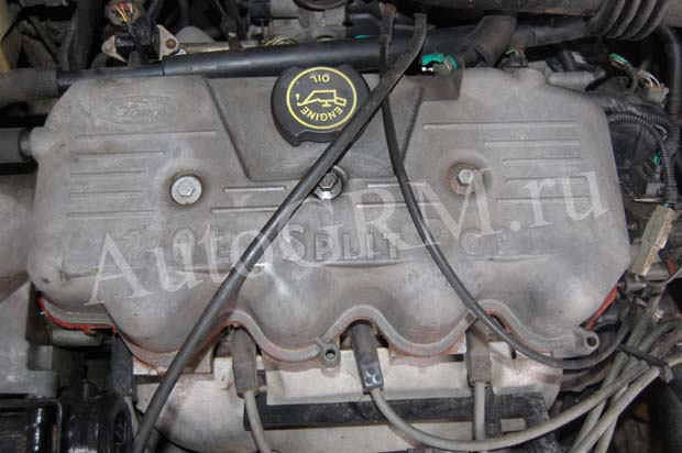 Двигатель Split port