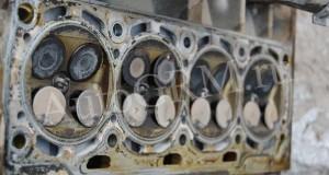 Ремонт головки блока цилиндров Skoda Octavia с двигателем 1,4 BCA после обрыва ремня ГРМ