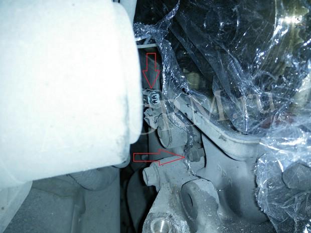 Демонтаж клапана VTC