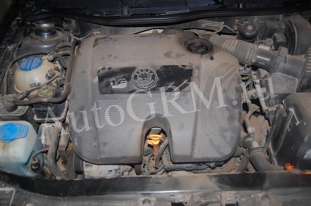 Двигатель 1,6 Skoda Octavia