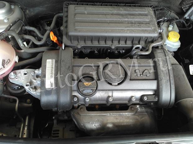 Двигатель BXW объемом 1,4 литра