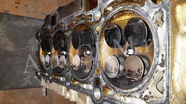 Загнуло клапана на приоре цена ремонта