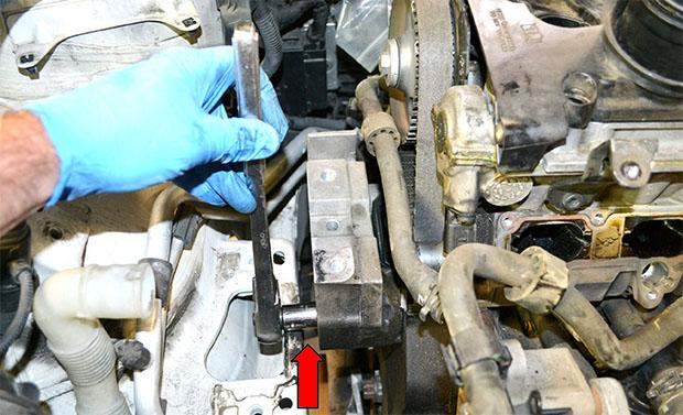 подъём двигателя