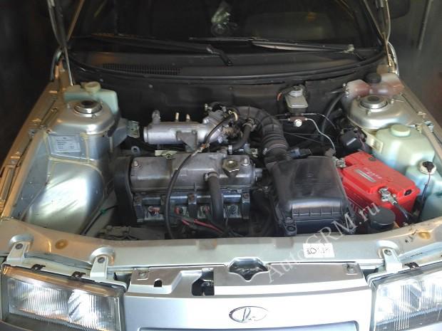 Двигатель 8 клапанов.